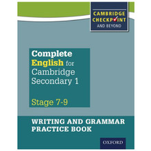 Complete English Cambridge Secondary 1 Stages 7–9 Writing & Grammar Practice Book - ISBN 9780198374701