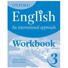 Oxford English An International Approach Part 3 Workbook - ISBN 9780199127252