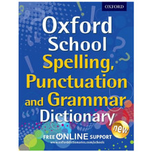 Oxford School Spelling, Punctuation and Grammar Dictionary - ISBN 9780192745378