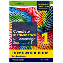 Complete Mathematics Cambridge Stage 1 Homework Book (Pack of 15) - ISBN 9780199137060