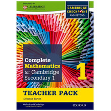 Complete Mathematics for Cambridge Stage 1 Teacher Pack - ISBN 9780199137053