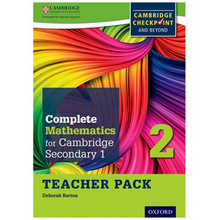 Complete Mathematics for Cambridge Stage 2 Teacher Pack - ISBN 9780199137084
