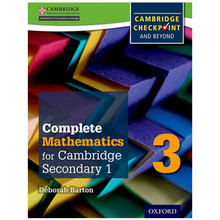 Complete Mathematics for Cambridge Stage 3 Student Book - ISBN 9780199137107