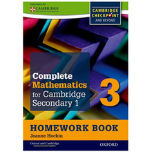 Complete Mathematics Cambridge Stage 3 Homework Book (Pack of 15) - ISBN 9780199137121