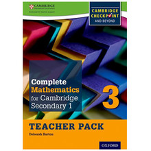 Complete Mathematics for Cambridge Stage 3 Teacher Pack - ISBN 9780199137114