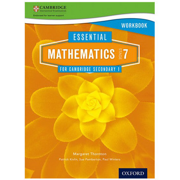 Essential Mathematics for Cambridge Secondary 1 Stage 7 Workbook - ISBN 9781408519844