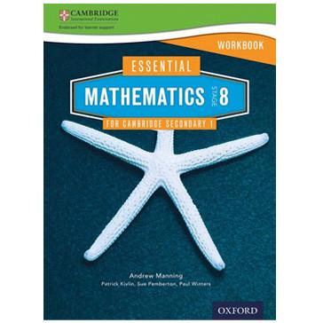 Essential Mathematics for Cambridge Secondary 1 Stage 8 Workbook - ISBN 9781408519875