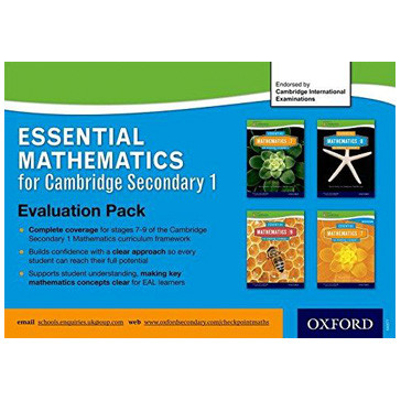 Essential Mathematics for Cambridge Secondary Evaluation Pack - ISBN 9780198356974