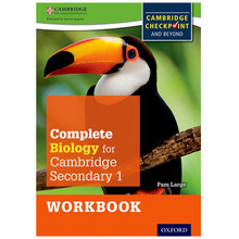 Complete Biology for Cambridge Secondary 1 Workbook - ISBN 9780198390220