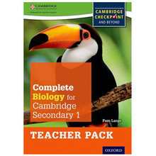 Complete Biology for Cambridge Secondary 1 Teacher Pack - ISBN 9780198390237