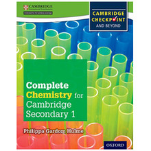 Complete Chemistry for Cambridge Secondary 1 Student Book - ISBN 9780198390183