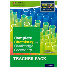Complete Chemistry for Cambridge Secondary 1 Teacher Pack - ISBN 9780198390206