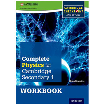 Complete Physics for Cambridge Secondary 1 Workbook - ISBN 9780198390251