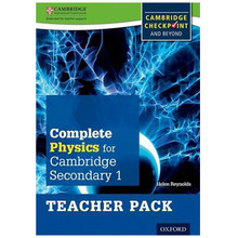 Complete Physics for Cambridge Secondary 1 Teacher Pack - ISBN 9780198390268