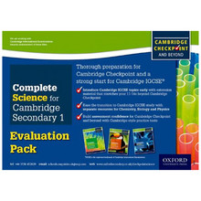 Complete Science (Biology, Chemistry, Physics) Evaluation Pack - ISBN 9780198307389