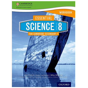Essential Science for Cambridge Secondary 1 Stage 8 Workbook - ISBN 9781408520680