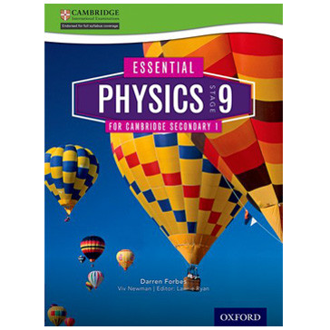 Essential Science Stage 9 Physics Student Book