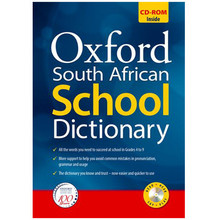 Oxford South African School Dictionary 3rd Edition with CD-ROM - ISBN 9780199040643