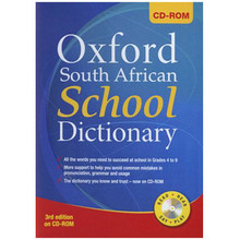 Oxford South African School Dictionary 3rd Edition on CD-ROM - ISBN 9780195997767