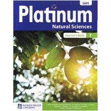 Platinum Natural Sciences Grade 7 Learner's Book (CAPS) - ISBN 978063614089