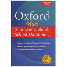 Oxford Mini Skoolwoordeboek, School Dictionary (Paperback) - ISBN 9780195992533