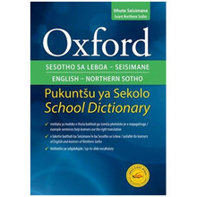 Oxford Bilingual School Dictionary Northern Sotho and English - ISBN 9780195765557