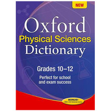 Oxford Physical Sciences Dictionary Grades 10-12 (Paperback) - ISBN 9780199041664