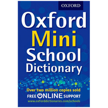 Oxford Mini School Dictionary (Bendy) - ISBN 9780192747082