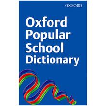 Oxford Popular School Dictionary (Paperback) - ISBN 9780199118748