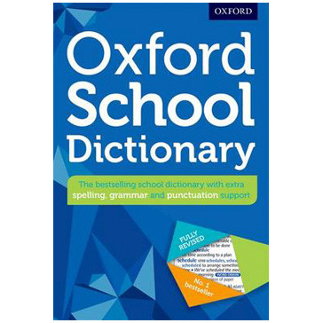 Oxford School Dictionary (Paperback) New Edition - ISBN 9780192747105