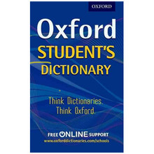 Oxford Student's Dictionary (Paperback) - ISBN 9780192742391