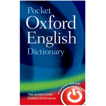 Pocket Oxford English Dictionary 11th Edition (Hardback) - ISBN 9780199666157