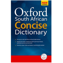 Oxford South African Concise Dictionary 2nd Edition (Hardback) - ISBN 9780195982183