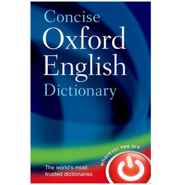 Concise Oxford English Dictionary 12th Edition (Hardback) - ISBN 9780199601080