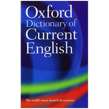 Oxford Dictionary of Current English 4th Edition (Paperback) - ISBN 9780198614371