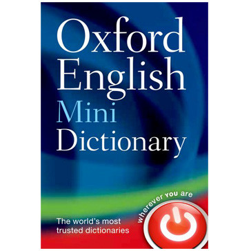 Oxford English Mini Dictionary 8th Edition (Bendy) - ISBN 9780199640966