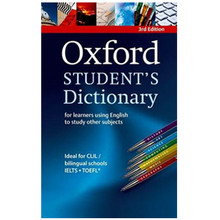 Oxford Student's Dictionary 3rd Edition (Paperback) - ISBN 9780194331364