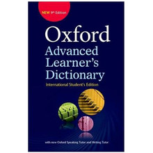 Oxford Advanced Learner's Dictionary 9th Edition ISE (Paperback) - ISBN 9780194799515
