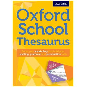 Oxford School Thesaurus New Edition (Paperback) - ISBN 9780192747112
