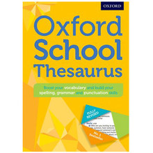 Oxford School Thesaurus New Edition (Hardback) - ISBN 9780192743510