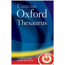 Concise Oxford Thesaurus 3rd Edition (Hardback) - ISBN 9780199215133