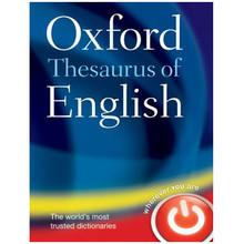 Oxford Thesaurus of English 2nd Edition (Hardback) - ISBN 9780199560813