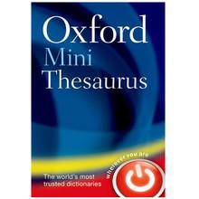 Oxford Mini Thesaurus 5th Edition (Bendy) - ISBN 9780199666140