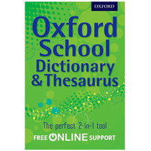 Oxford School Dictionary and Thesaurus (Paperback) - ISBN 9780192756923
