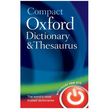 Compact Oxford Dictionary and Thesaurus (Hardback) - ISBN 9780199558476