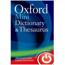 Oxford Mini Dictionary and Thesaurus 2nd Edition (Bendy) - ISBN 9780199692637
