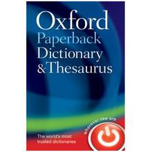 Oxford Paperback Dictionary and Thesaurus 3rd Edition (Paperback) - ISBN 9780199558469