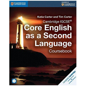 Cambridge IGCSE Core English as a Second Language Coursebook with Audio CD - ISBN 9781107515666