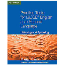 Practice Tests for IGCSE English as a Second Language Listening and Speaking Book 1 (Revised Edition) - ISBN 9780521140515