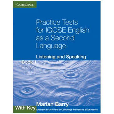 Practice Tests for IGCSE English as a Second Language, Listening and Speaking with Key (Revised Edition) - ISBN 9780521140539